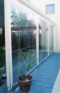 PVC Outdoor Zip Track Blind